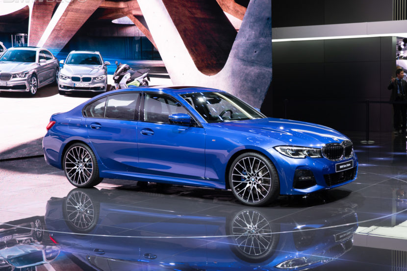 BMW G20 blå m pakke Paris